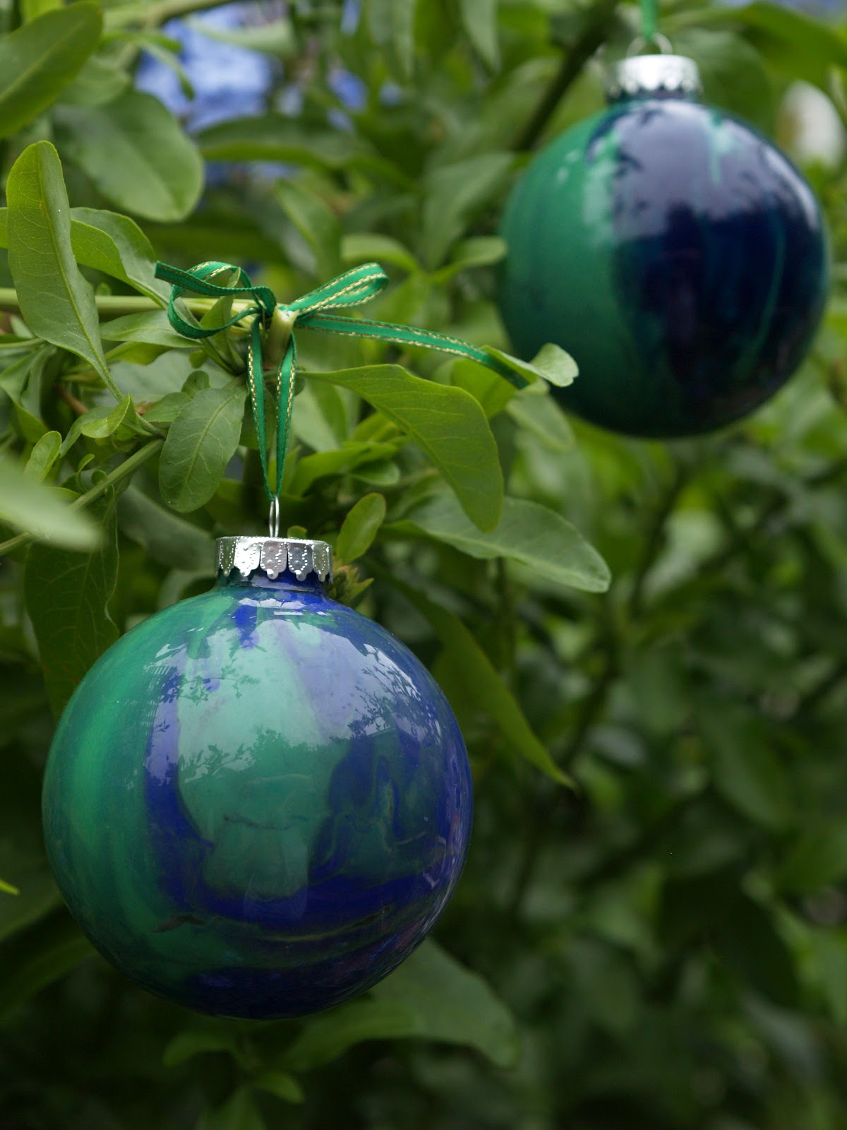 DIY Hand Painted Glass Ornament | ChristmasOrnaments.com