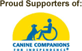 Proud supporters of Canine Companions