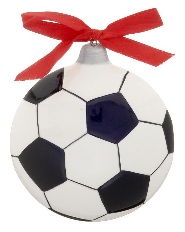 Soccer Ball Christmas Ornament - Soccer ...