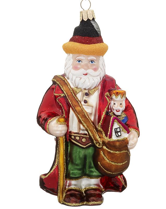 German Santa Christmas Ornament - Santa ...
