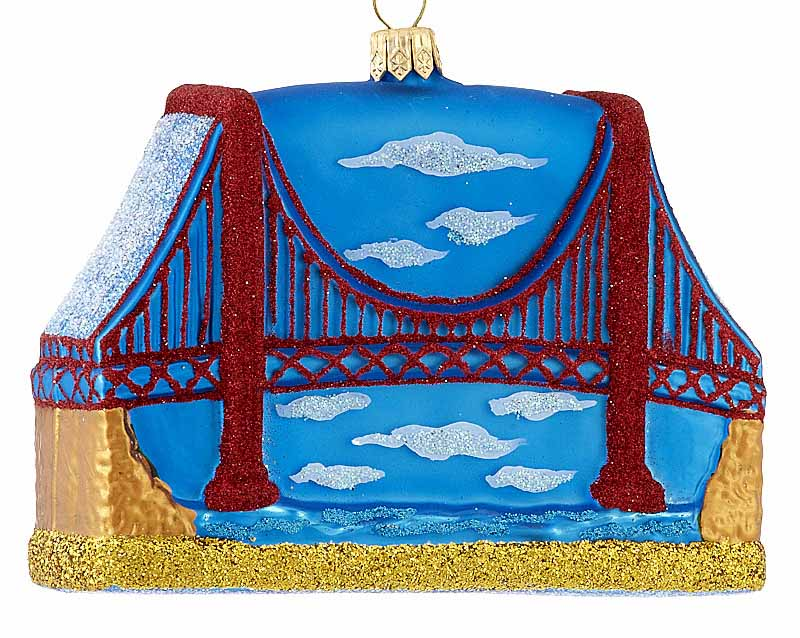 Golden Gate Bridge Christmasornaments Com