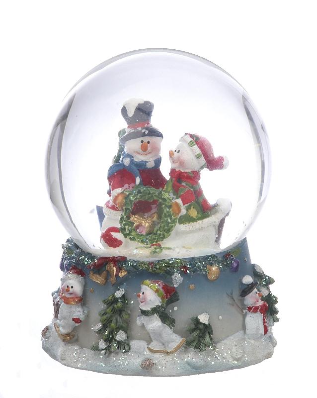 how to make a snow globe christmas ornament