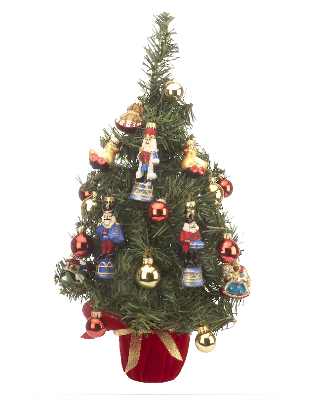 Mini Tree with Ornaments Christmas Ornament - Home