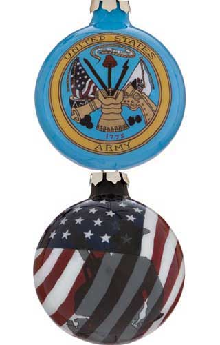 United States Army Glass Ball