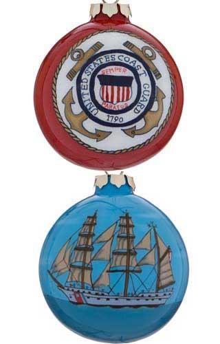 United States Coast Guard Glass Ball