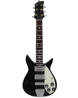 Black Electric Guitar