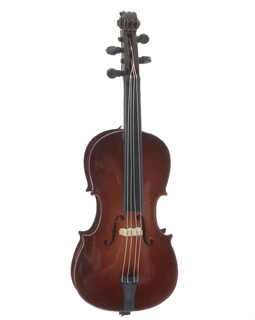 Ornaments for Christmas Trees: Cello Christmas Ornament