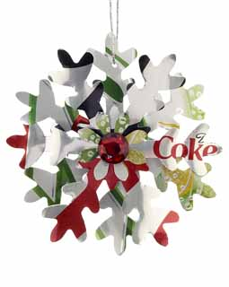 Diet Coke & Diet 7 Up Snowflake