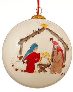 Ornaments for Christmas Trees: Nativity Christmas Ornament