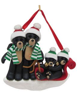 Black Bear Family Sled 4