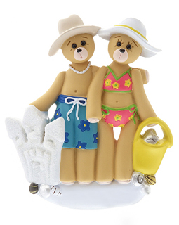 Beach Bear Couple
