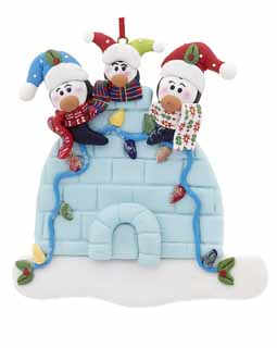 Igloo Penguin Family of 3 CODY12002