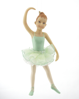 Young Ballerina - Green