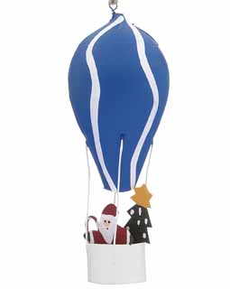 Santa in Hot Air Balloon