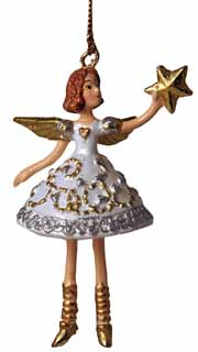 Pixie Angel Holding Star