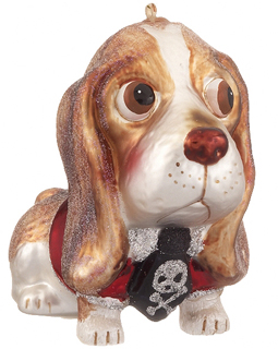 Basset Hound - Red