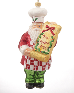 Cook Santa with Menu
