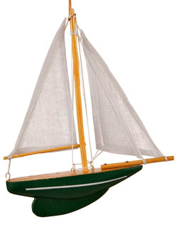Ornaments for Christmas Trees: Sailboat Christmas Ornament