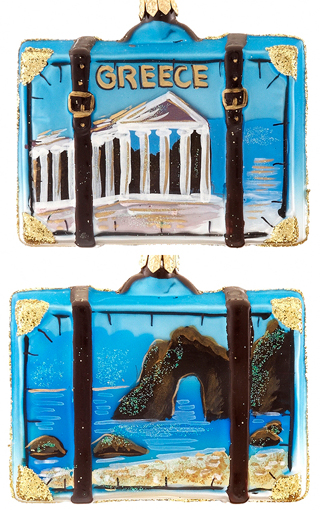 Greece Suitcase