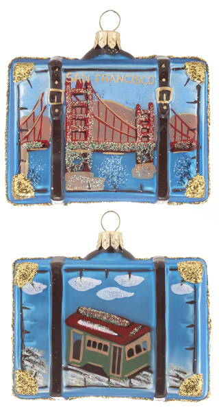 San Francisco Suitcase