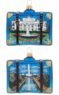 Washington D.C. Suitcase