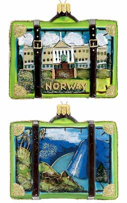 Norway Suitcase