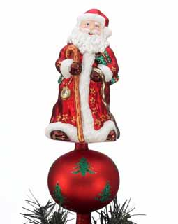 Slim Santa Tree Topper