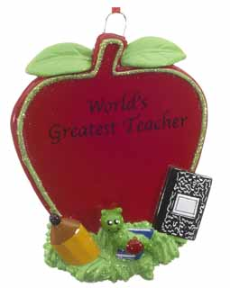 World's Greatest Teacher Apple