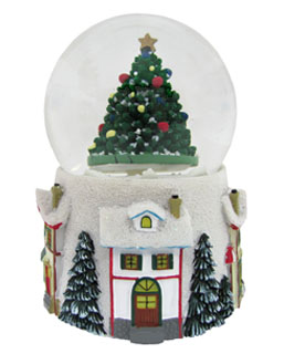 Medium Tree Snow Globe