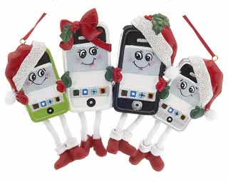 Smart Phone Family of 4