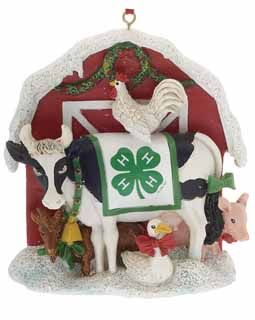 4H Club Christmas Barn