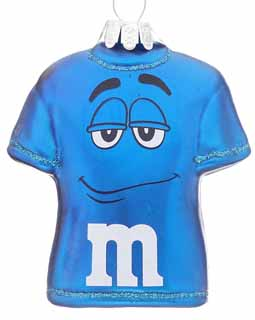 M&Ms T-shirt Blue