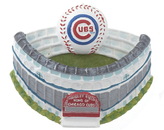Ornaments for Christmas Trees: Wrigley Field Christmas Ornament