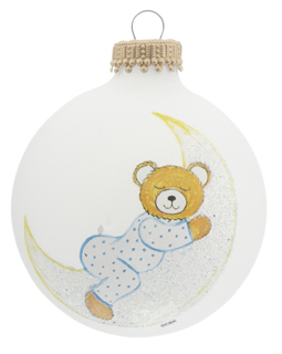 Baby Bear on Moon Blue