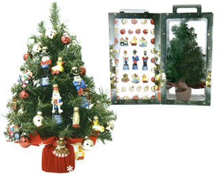 Mini Tree with Ornaments
