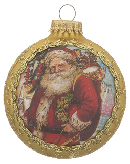 2016 Santa on Silk - 1911 Santa Claus