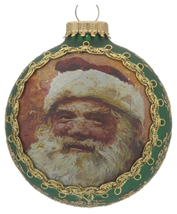 2014 Santa on Silk - 1915 St. Nick