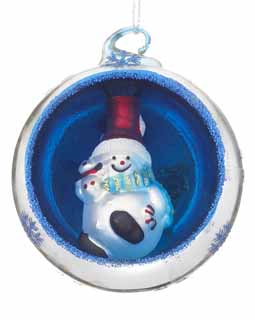 Ornament in an Ornament - Snowman