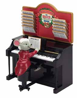 Maestro Mouse at Piano - Plays 12 Christmas Carols