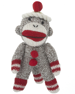 Sock Monkey - Red