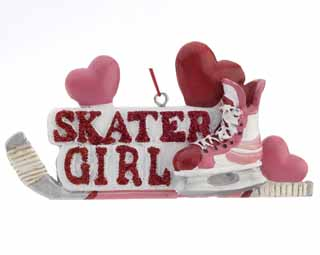 Hockey Girl - Skater Girl