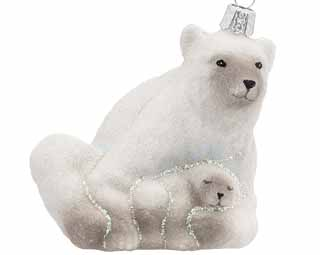 Polar Bear with Cub COOW12039