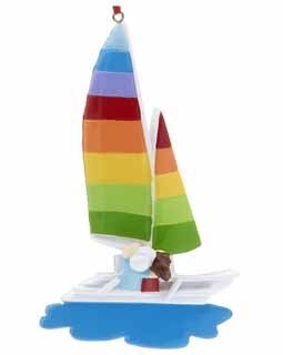 Sail Away Sailboat Couple