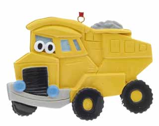 Dump Truck with Eyes