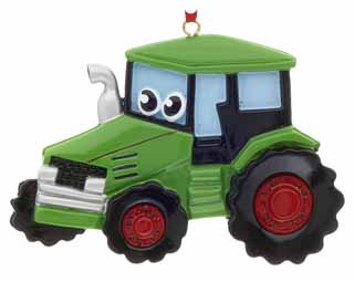 Tractor with Eyes
