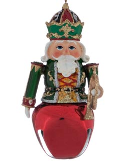 Nutcracker - Red Jingle Bell