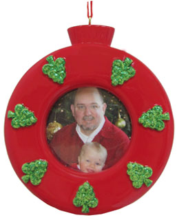 Red Ornament Frame