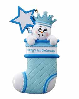 Baby Stocking Blue