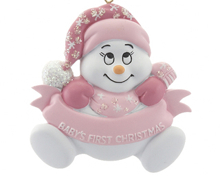 Snow Baby 1st Christmas Girl