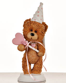 Princess Bear Figurine